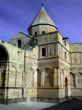 Monasterio de San Tadeo. The monastery of St. Thaddeus, Iran