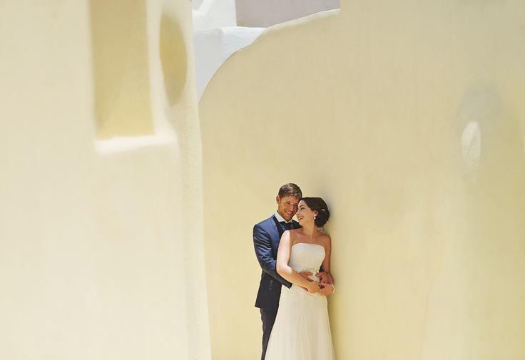 Valerie + Chad | Elopement in Santorini – Greece Mykonos Santorini Athens Wedding Photographer