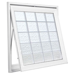 Architecturaldepot.com....  a crank out awning glass block window.  only $593.00