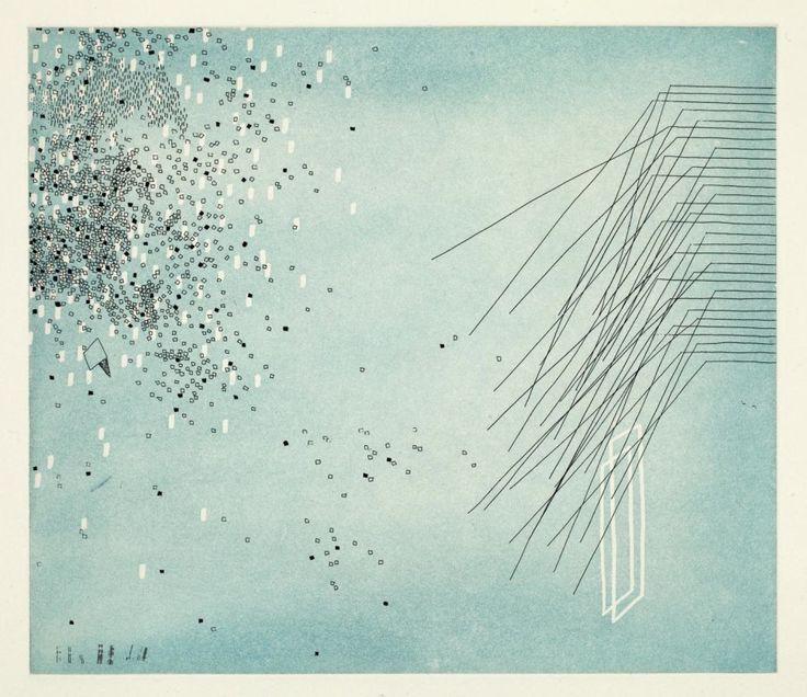 """Peace Memory"" (2014) Hardground etching and aquatint"