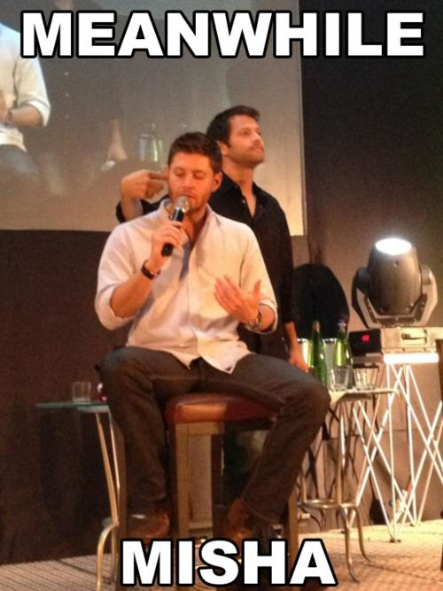 Misha.... I actually watched this interview... It was pretty fantastic..