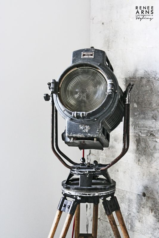 Industrial light fixture. [RAF like..as long as not too many movie theatre ref.s]