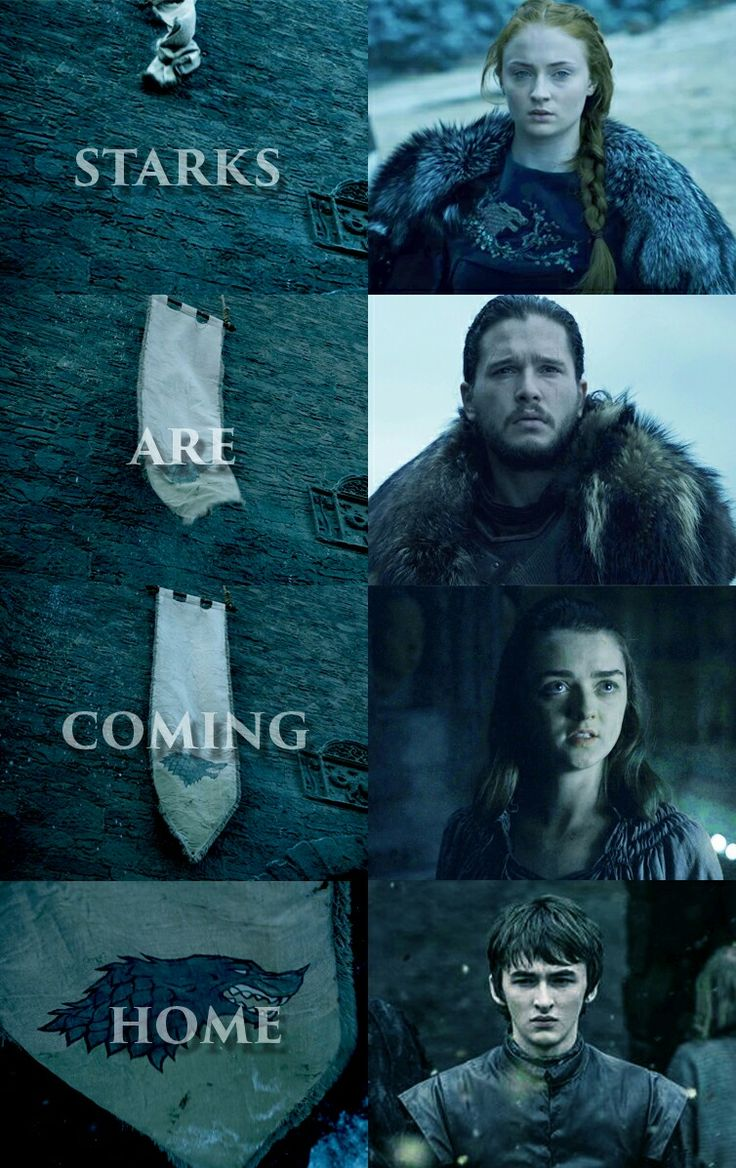 image subject to copyright. original edit. Starks homecoming, game of thrones ,house stark ,game of thrones edits , bran stark ,arya stark ,jon snow ,sansa stark, winter is coming ,stark banner, stark sigil ,winterfell ,a world of ice and fire, a song of ice and fire