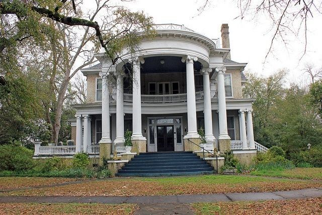 Beautiful abandoned mansion for sale in Barbour County, Alabama. Photo by Black Doll via Flickr.