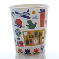Vote for our new coffee cup design. This design is calledHoliday in the Sky by Anders Arhoj. Vote for it at www.flysas.com/design