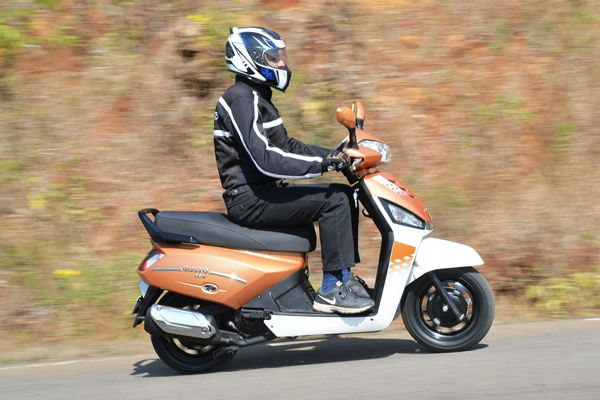 The Gusto has renewed wind in its sails, with engine capacity up to 125cc. Here's our first impression.