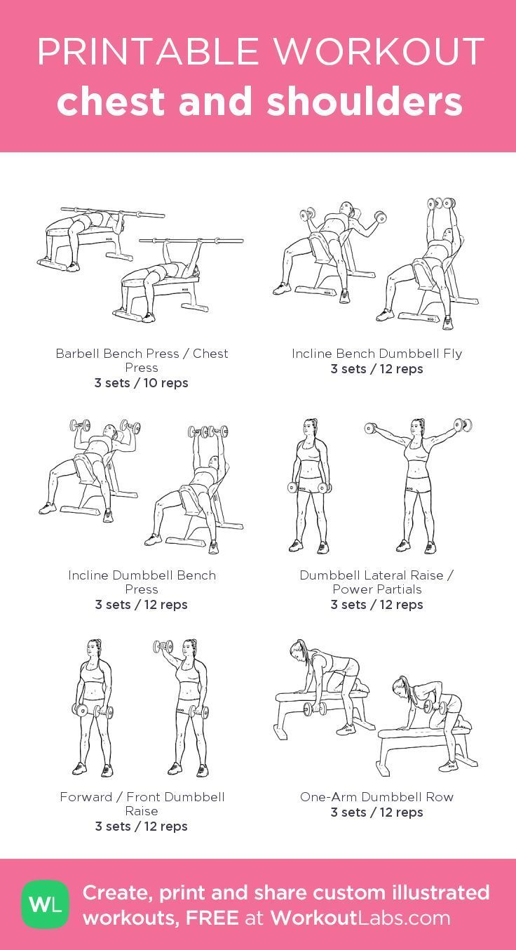 chest and shoulders workout chest and shoulders workout