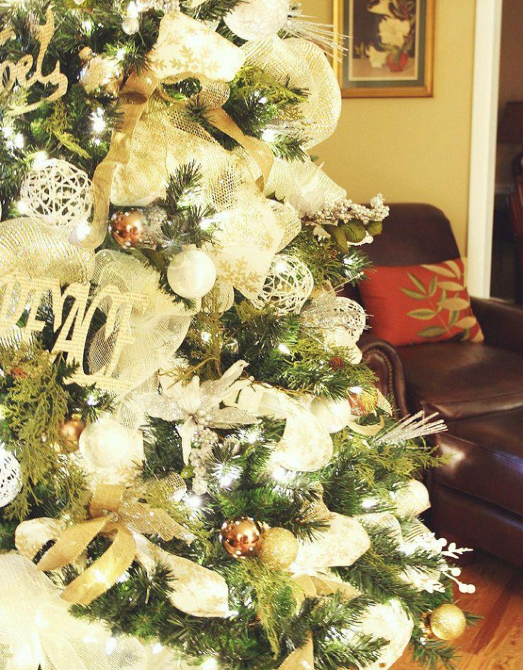 Christmas Theme Decorating Ideas 102 best white christmas decorating images on pinterest