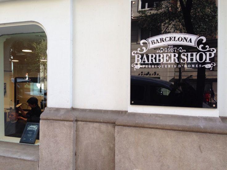 Barber shop Barcelona