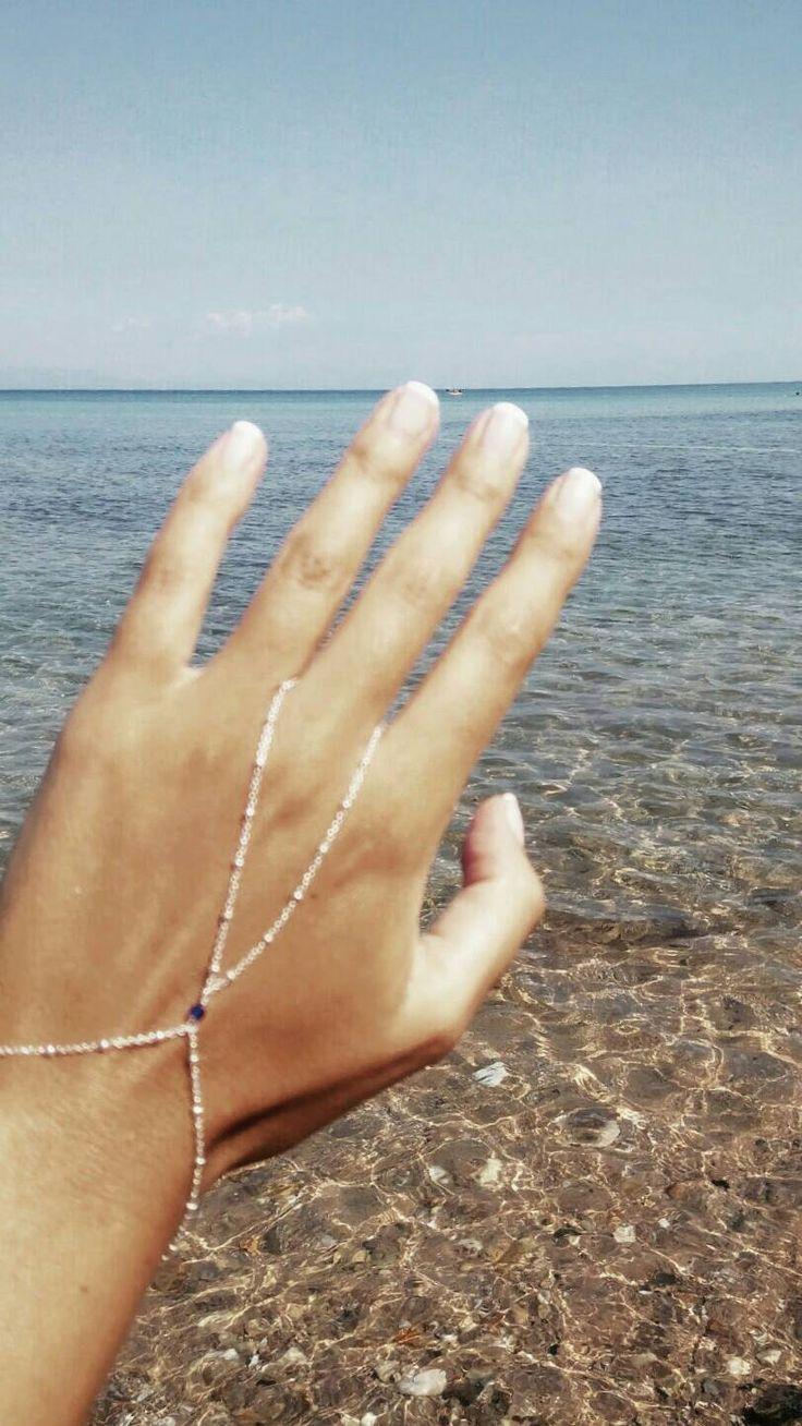 Bracciale dito d'argento, argento oro Bracciale alla schiava con avventurina è precius stones (pietre verdi), tutti braccialetto di giorno di fattoamanou su Etsy