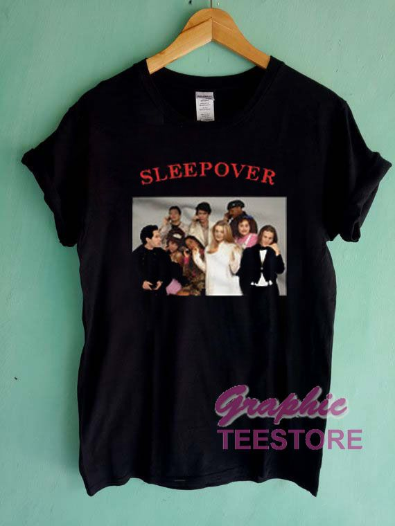 Clueless Cast Sleepover Graphic Tees Shirts //Price: $13.50 //     #graphic tees ideas