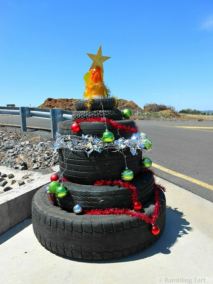 41 best Tires: Christmas Special images on Pinterest | Recycled ...