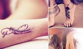 Znalezione obrazy dla zapytania tatuaż pióra