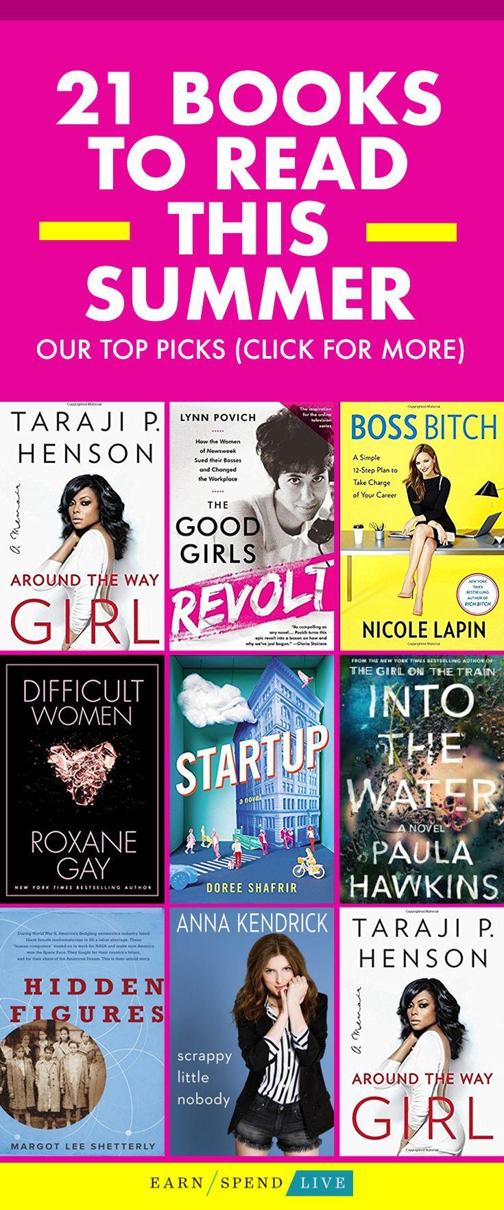 Books To Read All Summer 2017 Summer Booklist, Books For Summer, Summer  Reading