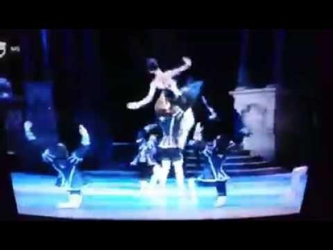 Swan Lake (Hung.Nat.Ballet) - Odilia különleges tánca / Odile's wonderfu...