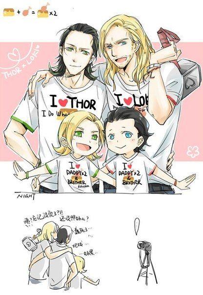thorki cute - Google Search | fan art | Loki thor Thor x ...