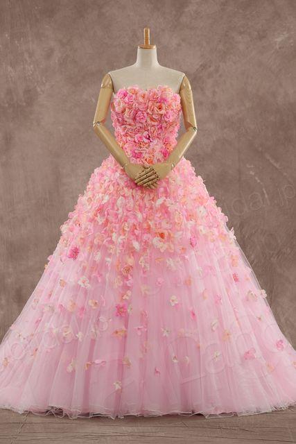 思いっきり華やか!お花いっぱいドレスまとめ   Marry Jocee