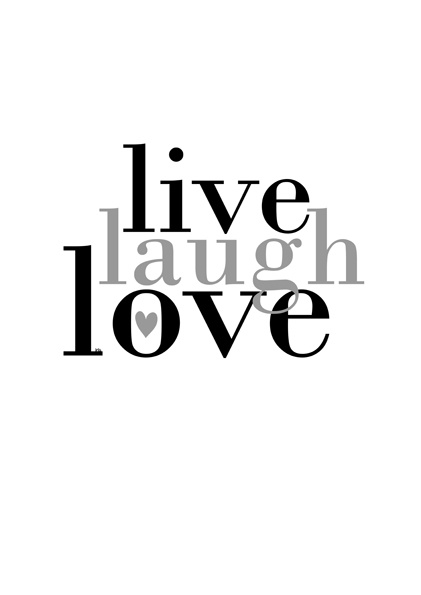 "Tattoo Ideas & Inspiration - Quotes & Sayings | ""Live, Laugh, Love"""