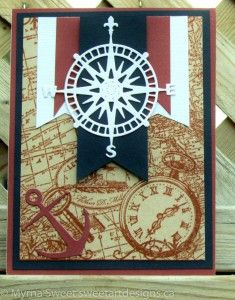 This week at Pals Paper Arts Challengethe designer were running with a nautical theme with Cajun Craze, Nights of Navy, and Very Vanilla. I...