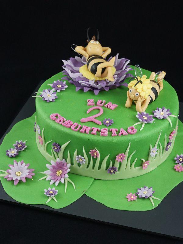 Biene-Majatorte, Biene Maja Torte, Motivtorte, 3D Torte Biene Maja