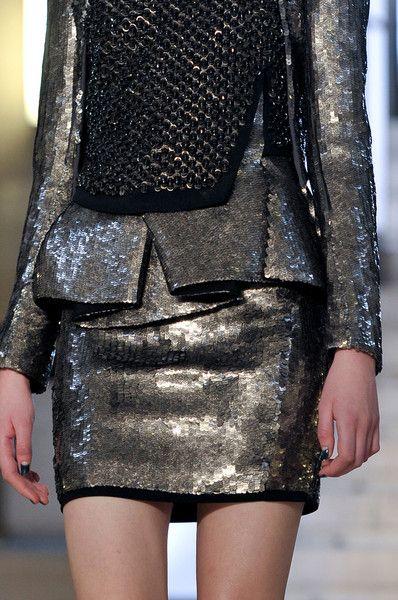 Antonio Berardi at London Fashion Week Fall 2012 - Details Runway Photos