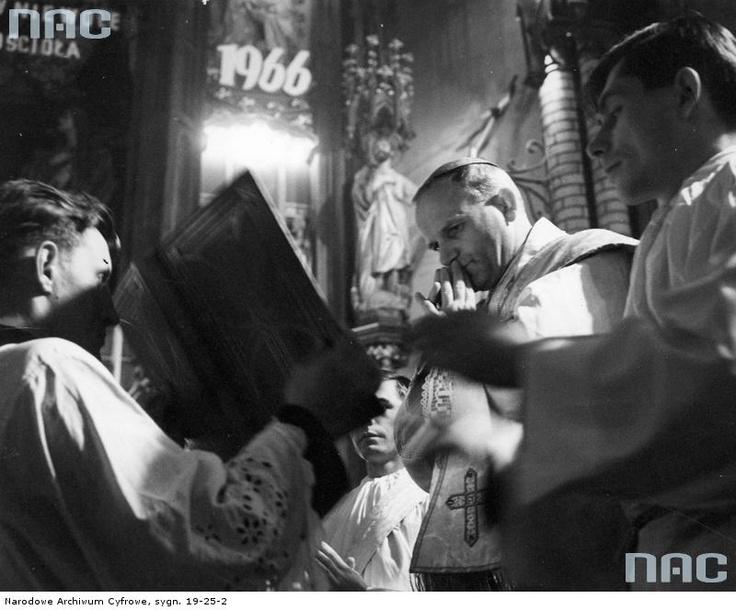 Karol Wojtyła, 1966.