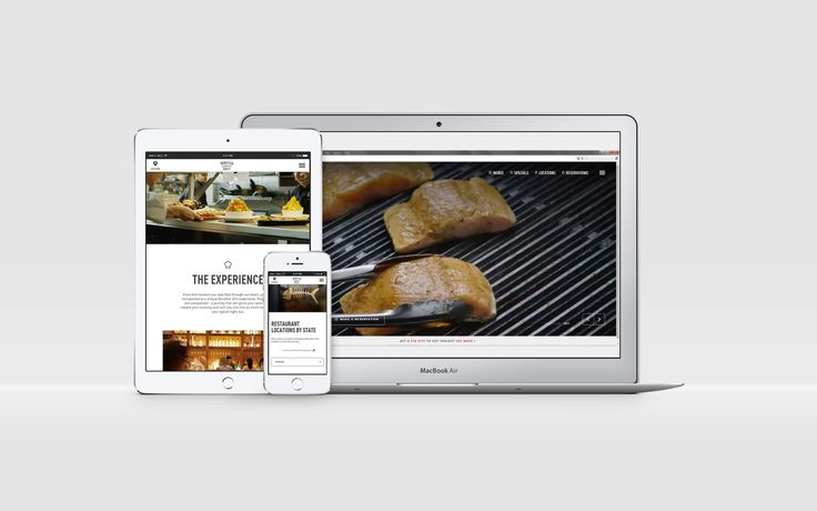 Bonefish Grill's new Website @Wondersauce