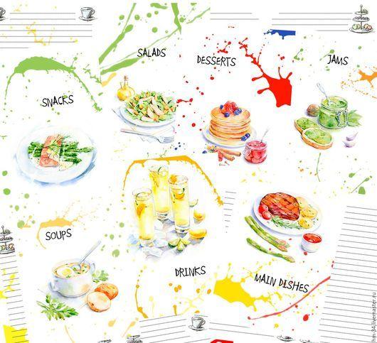 Кулинарные книги ручной работы. Ярмарка Мастеров - ручная работа. Купить Странички для кулинарной книги. Handmade. Комбинированный, странички для блокнота