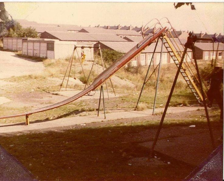 Who remembers 'Big' slides? Health and Safety would never allow these again.
