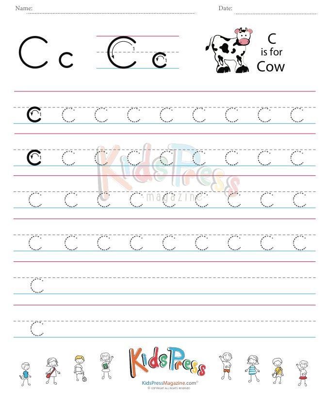 158 besten Alphabet A-Z Practice Worksheets Bilder auf Pinterest ...