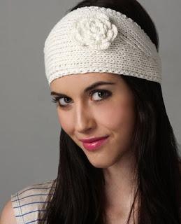 Sweet Sweezers: diy Crochet Head Wrap