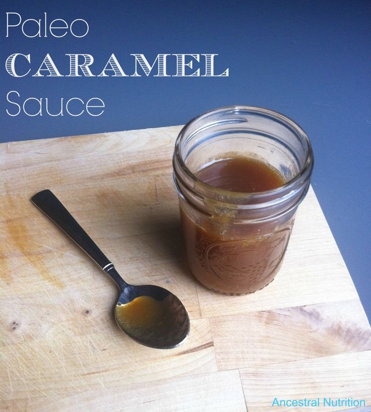 The BEST paleo caramel sauce. No dairy and sweetened with honey.