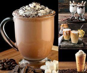 Cafés helados, mitad postre y mitad bebida.