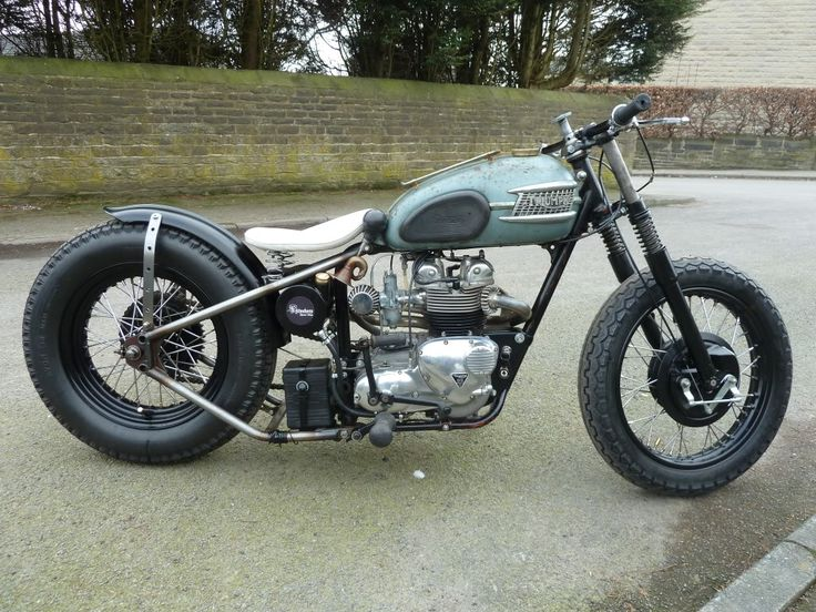 238 best bobber images on pinterest | custom motorcycles, triumph