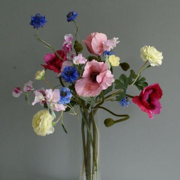 Zomer bloemen boeket 10 takken :: Seta Fiori webshop