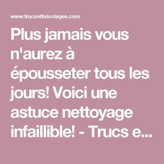 701 best trucs maison images on Pinterest Bazaars, Cleaning hacks - Aide Pour Faire Des Travaux Dans Une Maison