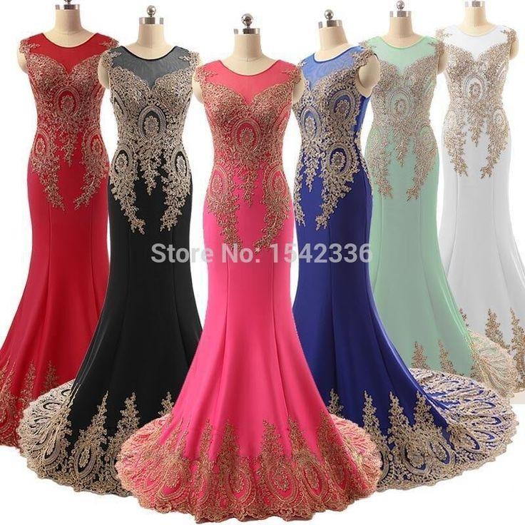 Custom tailored evening dresses