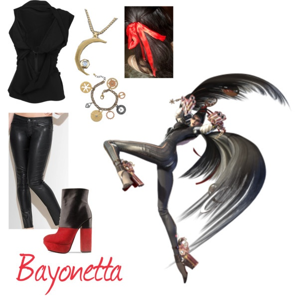Bayonetta, created by elocinecko on Polyvore