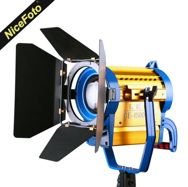 Осветитель светодиодный  NiceFoto CE-1500WS с линзой френеля (150 W LED)
