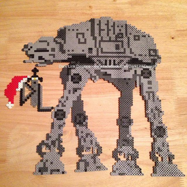 AT-AT Star Wars hama beads by darklinkdesigns