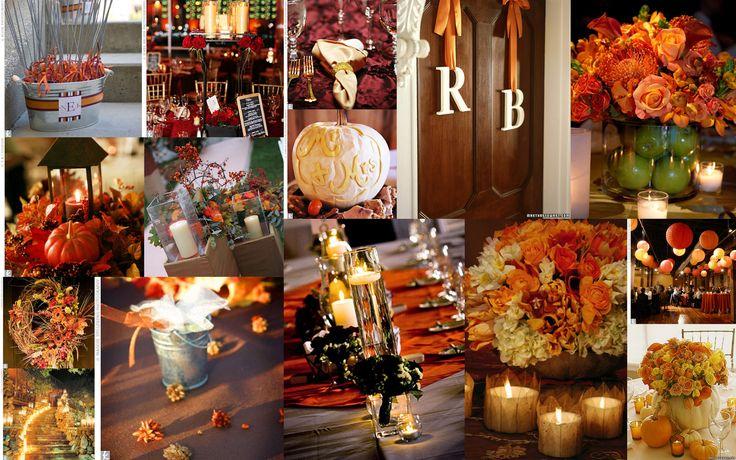 amazing fall wedding decor - Google Search