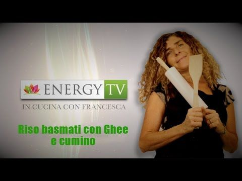 In cucina con Francesca - Puntata 50 - Riso basmati con Ghee e cumino - YouTube