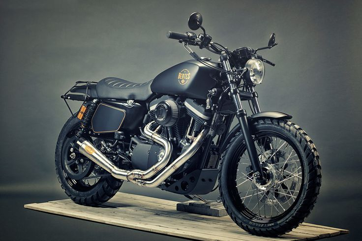 Scramblers are all the rage these days. The Harley-Davidson 1200 Sportster is not an obvious candidate, until you see what Renard Speed Shop have done ...