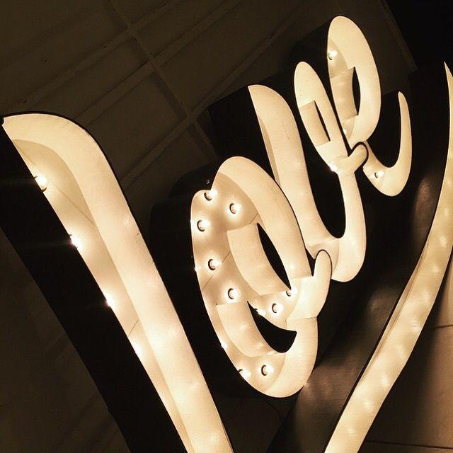 The BIG love sign #weddingspartiesanything #wedding #weddingdecor