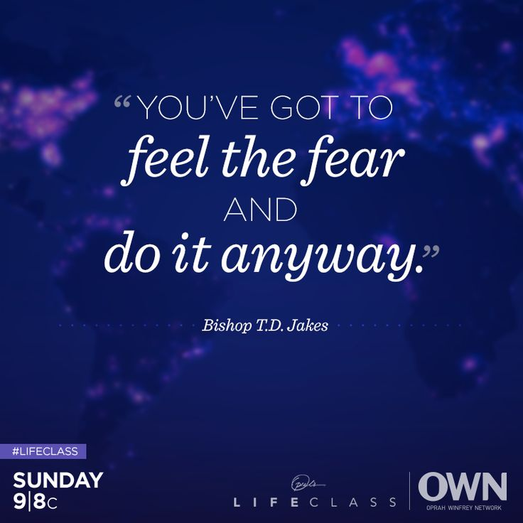 Are you looking to transform your life? Oprah and Bishop T.D. Jakes are helping you focus on what really matters when trying to move on—the future. Join us for #Lifeclass tonight at 9/8c.