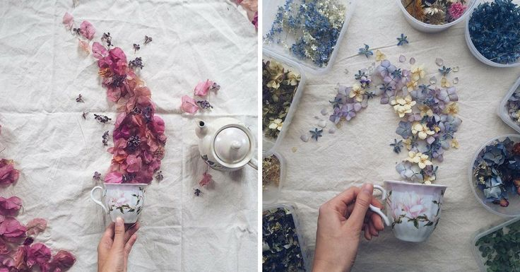 Si tous les sachets de thé renfermaient autant de fleurs, il en résulterait d'incroyables explosions de saveurs à chaque gorgée !