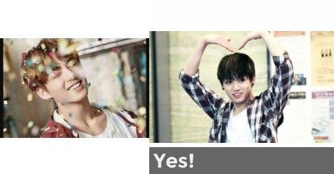 Yes! | Are you Jungkook's Ideal Type?