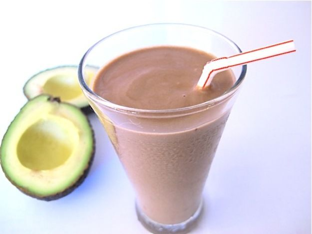 Image result for CREAMY CHOCOLATE AVOCADO SHAKE