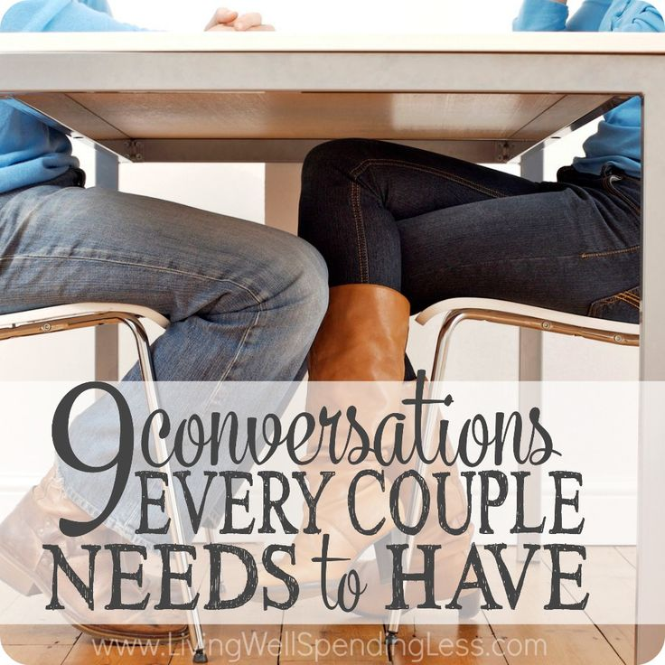 When life gets busy it is easy to forget how important regular discussions can be to a healthy marriage. Don't miss these 9 conversations every couple needs to have!