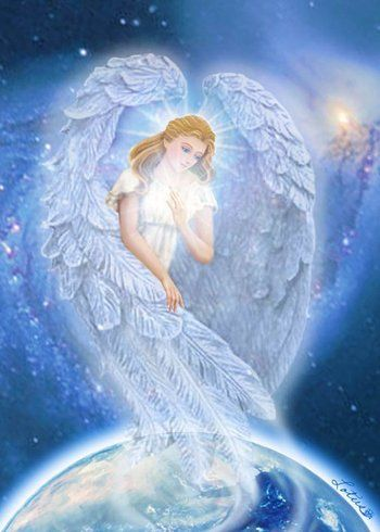 "YOUR GUARDIAN ANGEL - ""You may see me as huge, or imagine me as small, I'm right by your side and will hear when you call. I'm loyal and true, you can trust me to care, I'm your Guardian Angel, I will always be there!"""